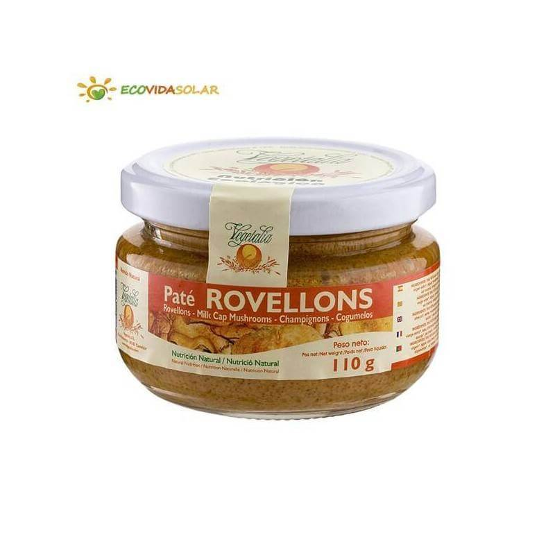 Paté de rovellons bio - Vegetalia