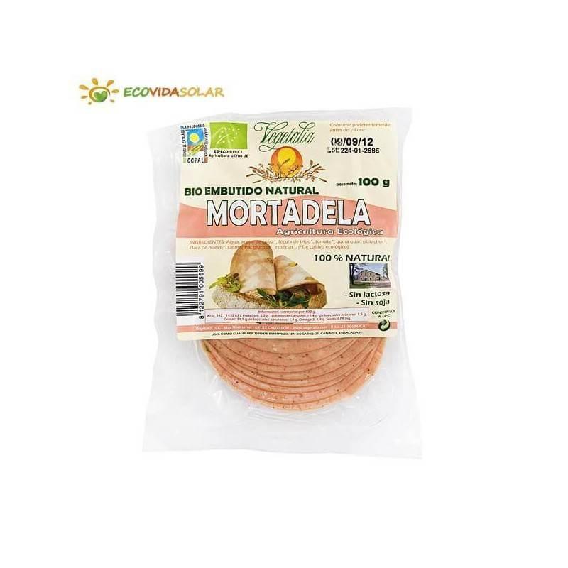 Mortadela vegetal bio - Vegetalia