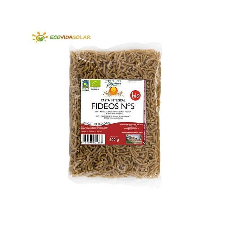 Fideo nº 5 integral bio - Vegetalia