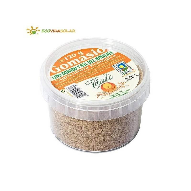 Gomasio con sal del himalaya y lino dorado bio - Vegetalia