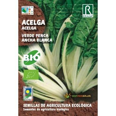 Semillas ecológicas de Acelga bio penca ancha y blanca - Rocalba