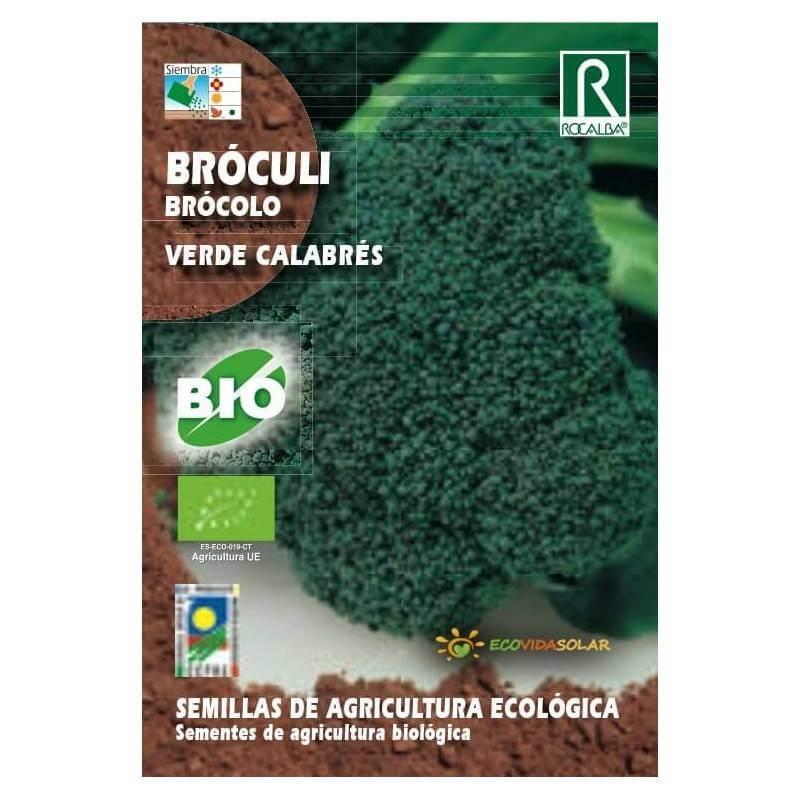 Semillas de Brócoli verde calabrés bio - Rocalba
