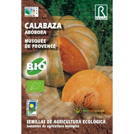 Semillas Ecológicas de calabaza Musquée de provence - Rocalba