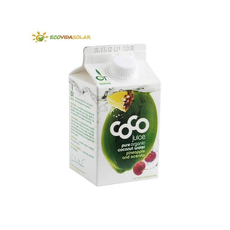 Coco drink piña y acerola bio - Dr. Antonio Martins