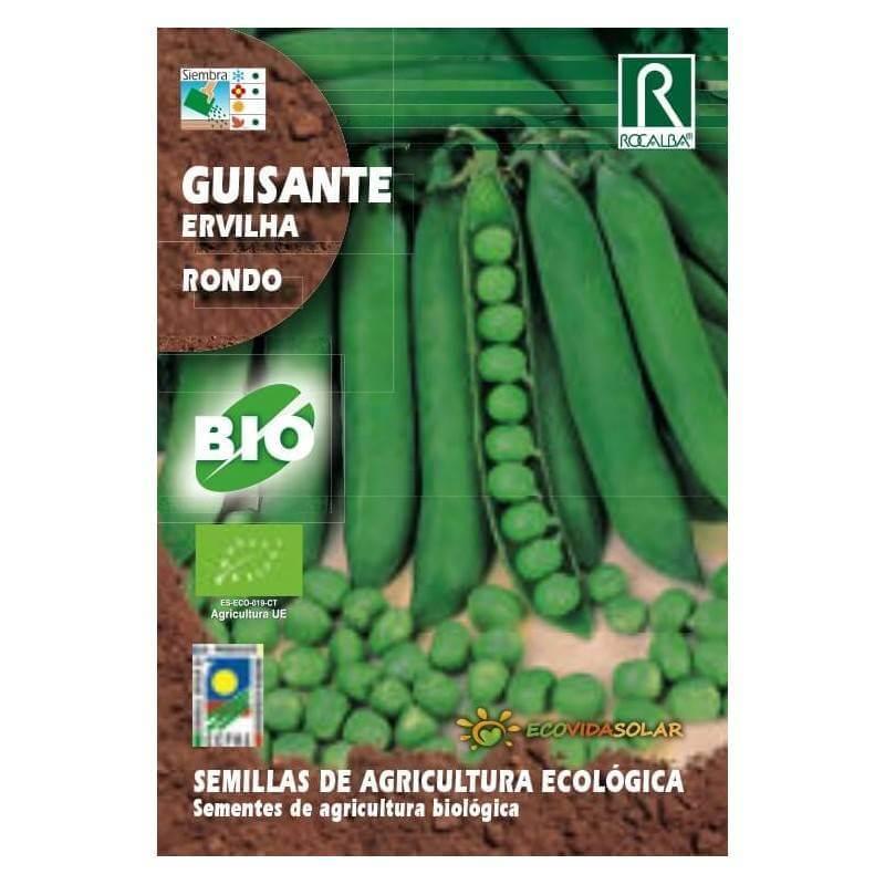 Semillas de guisante bio -Rocalba