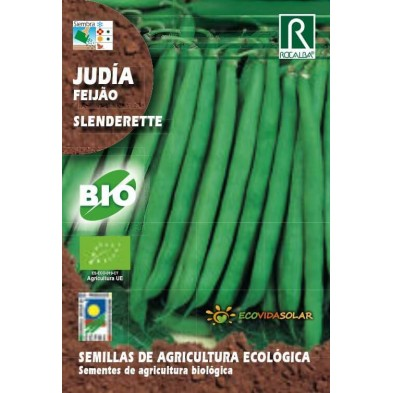 Semillas de Judia Slenderette bio - Rocalba