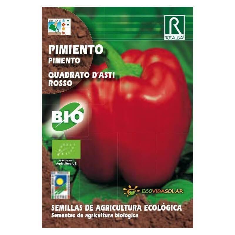 Semillas de Pimiento bio - Rocalba