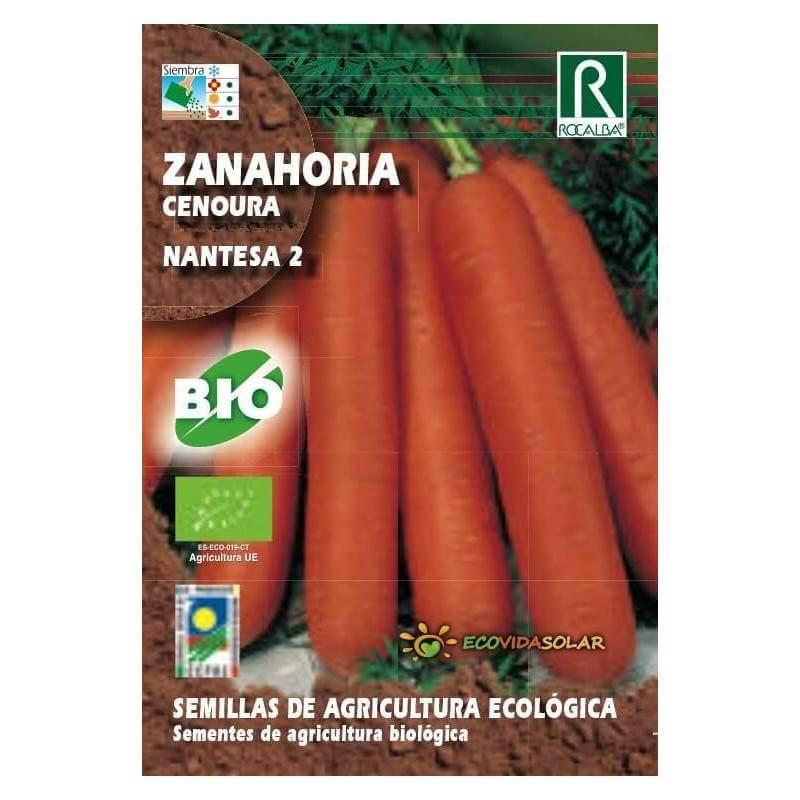 Semillas de Zanahoria bio - Rocalba