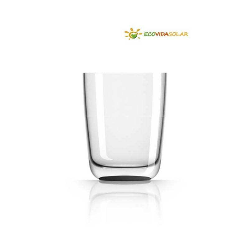 Vaso highball antibalance de Tritán - Negro - Transparente - Blanco - Palm Products