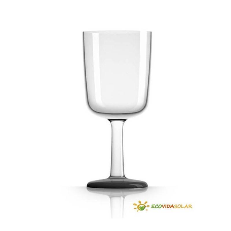 Copa de vino antibalance de Tritán - Negro - Palm Products