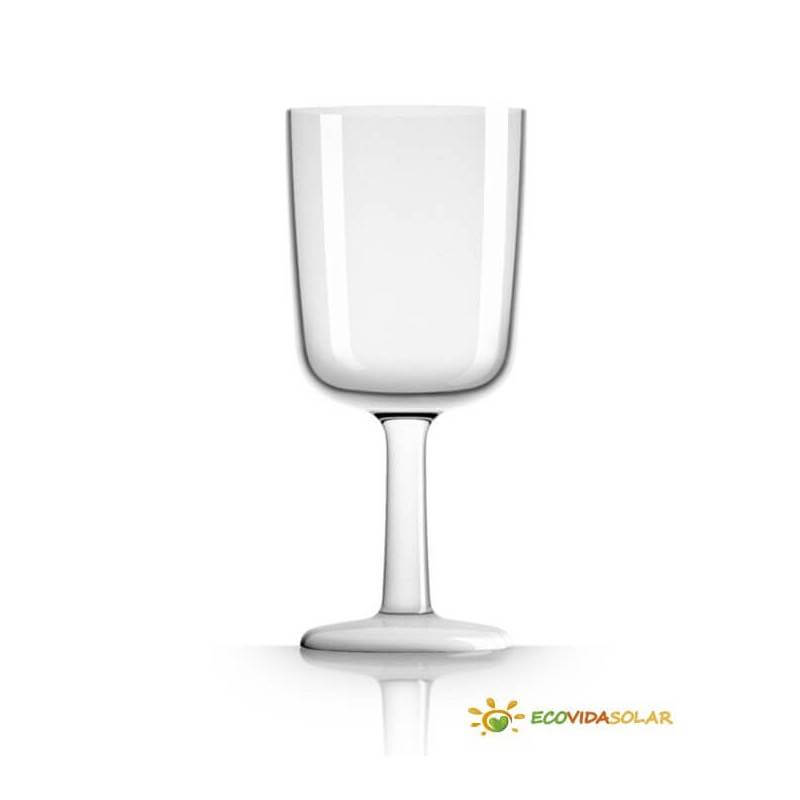 Copa de vino antibalance de Tritán - Blanco - Palm Products