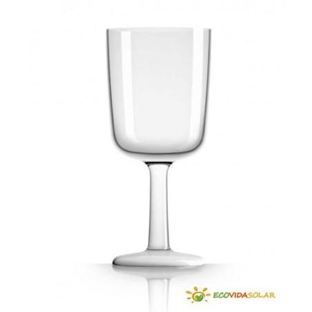 Copa de vino antibalance de Tritán - Blanco - Palm Products