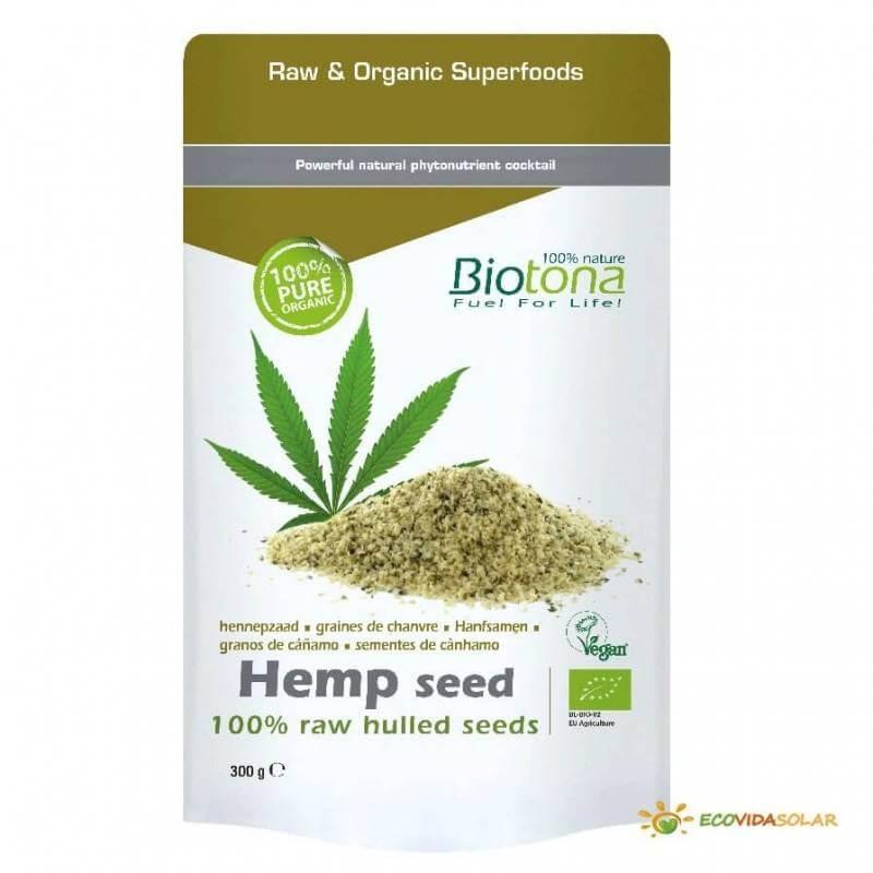 Cañamo en grano raw bio - Biotona