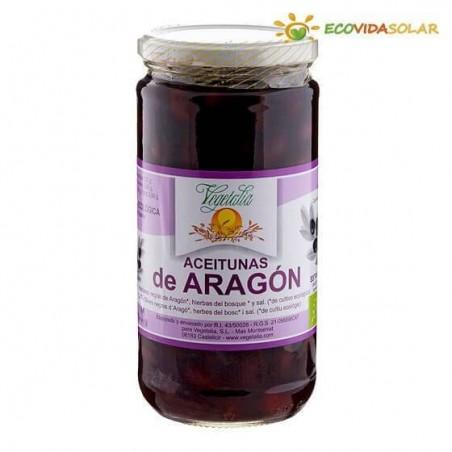 Olivas negras de aragón bio - Vegetalia