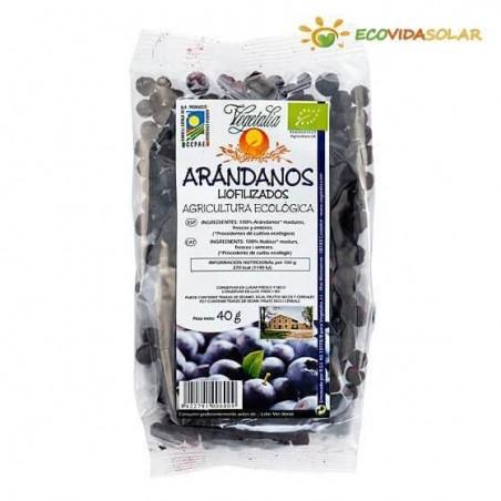 Arándanos liofilizados bio - Vegetalia