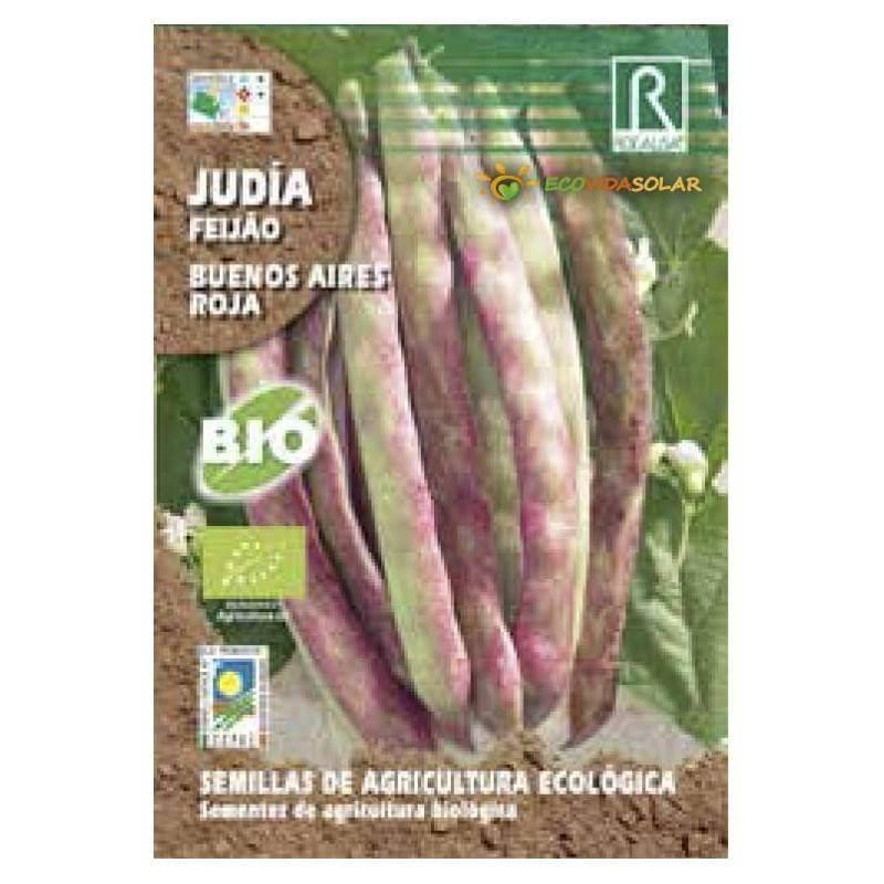 Semillas-judia-buenos-aires-roja-bio-Rocalba-Ecovidasolar