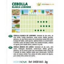 Semillas de Cebolla blanca bio - Rocalba