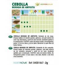 Semillas de Cebolla ecológica - Rocalba