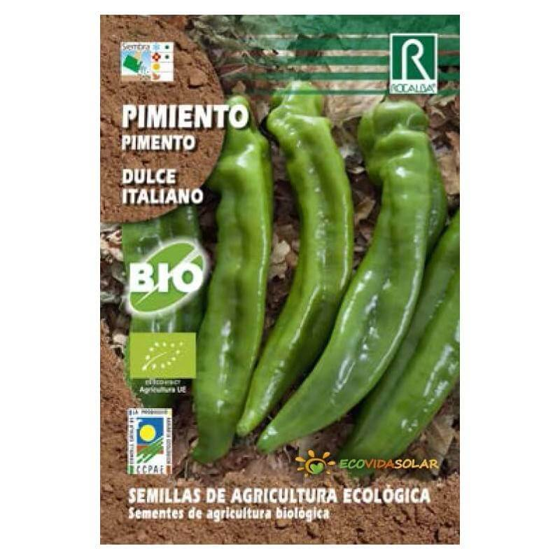 Semillas-pimiento-dulce-italiano-bio-Rocalba-Ecovidasolar