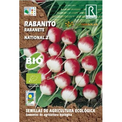 Semillas de Rabanito National 2 bio - Rocalba