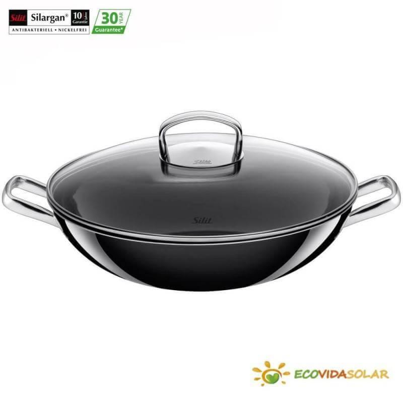 wok-negro-tapa-cristal-Silit-Silargan-Ecovidasolar