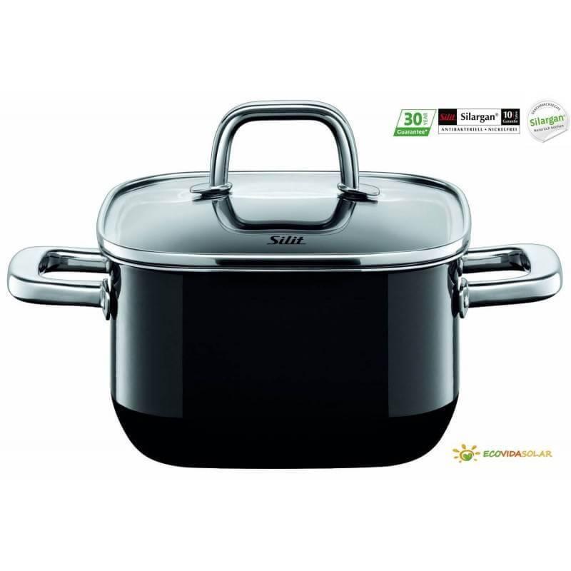 Cacerola-Quadro-Silit-Silargan-2l-16cm-black-Ecovidasolar