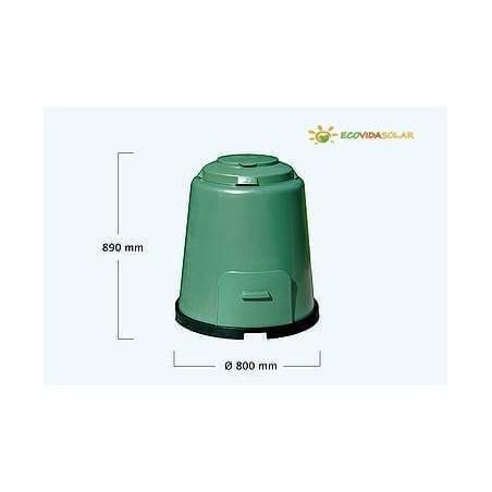 Compostadora-Rapid-Composter-Graf-Ecovidasolar-280-litros