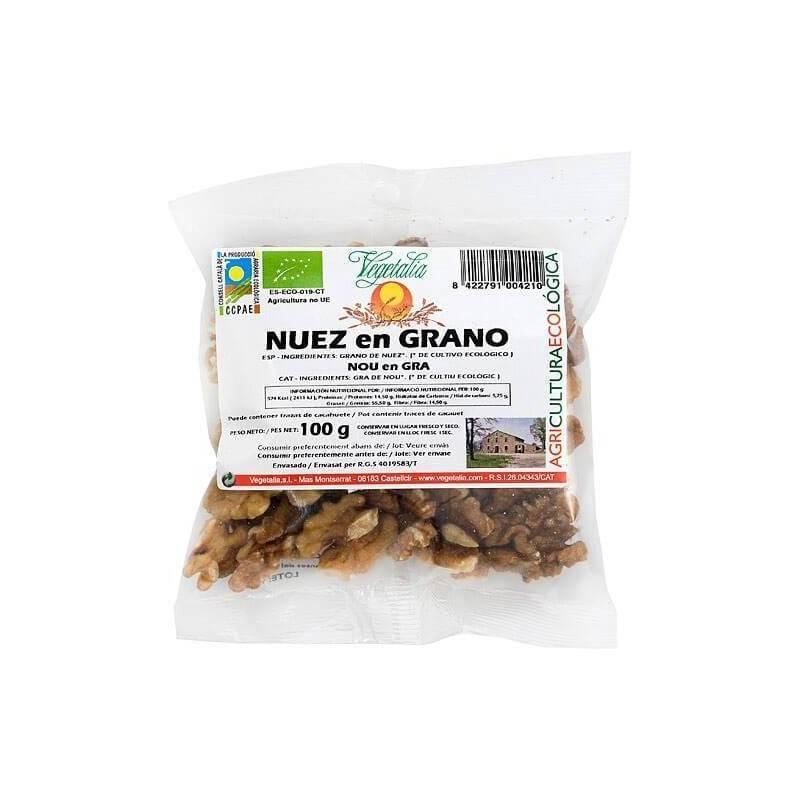 20-66 Nueces en grano bio - Vegetalia - Ecovidasolar