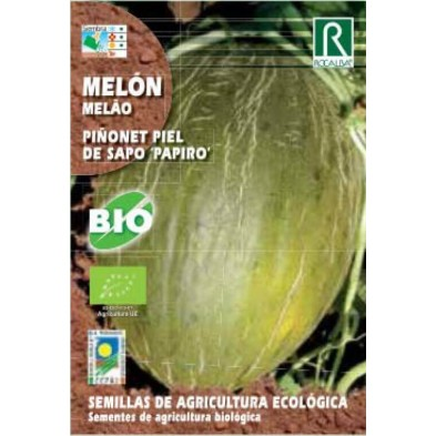 Semillas de melon piñonet piel de sapo papiro bio - Rocalba
