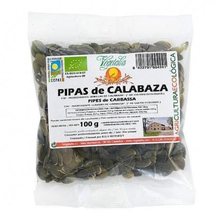 20-73 Pipas de calabaza bio - Vegetalia - Ecovidasolar