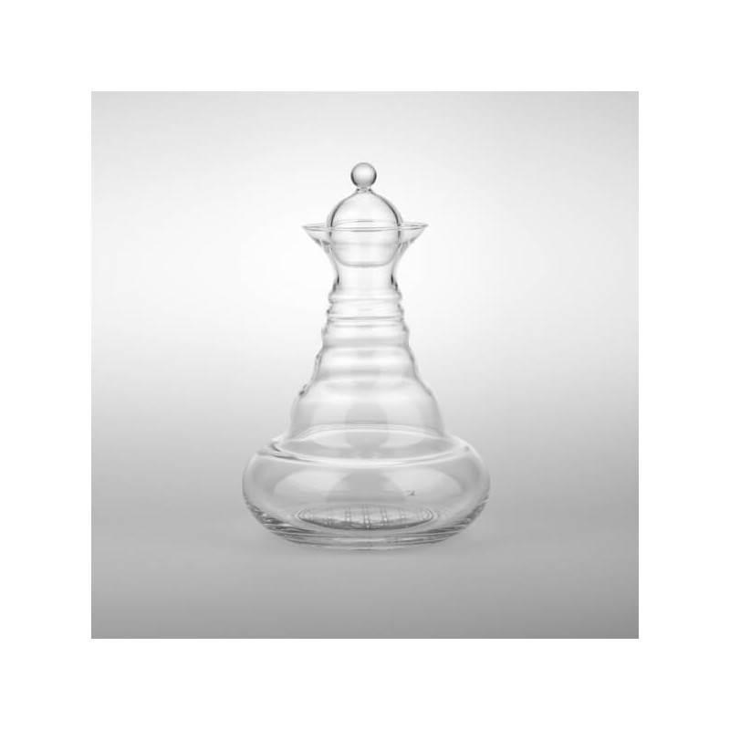 Jarra Alladin con flor de la vida en platino - Natures Design - Ecovidasolar