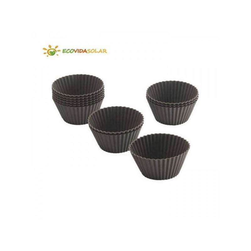 Moldes de silicona ecológica magdalenas - Lurch
