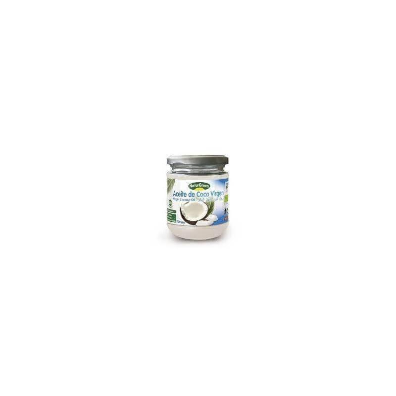 Aceite de coco virgen bio 400 g - Naturgreen -Ecovidasolar
