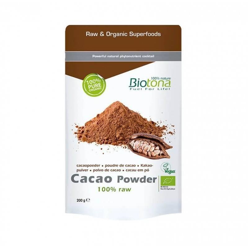 Cacao polvo puro bio - Biotona - Ecovidasolar