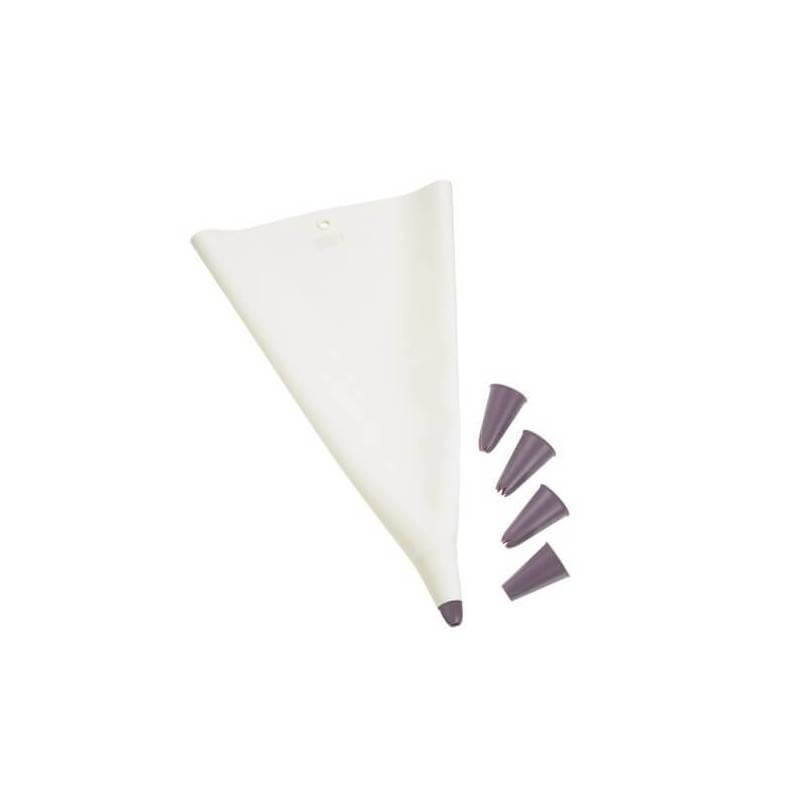 Manga pastelera silicona platino - 00070096 - Lurch - Ecovidasolar