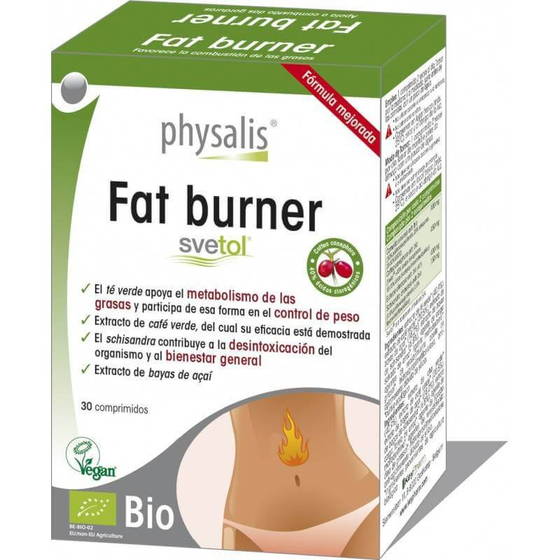 Fat Burner Physalis comprimidos - Ecovidasolar
