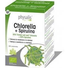 Chlorella+Spirulina bio - Physalis - Ecovidasolar