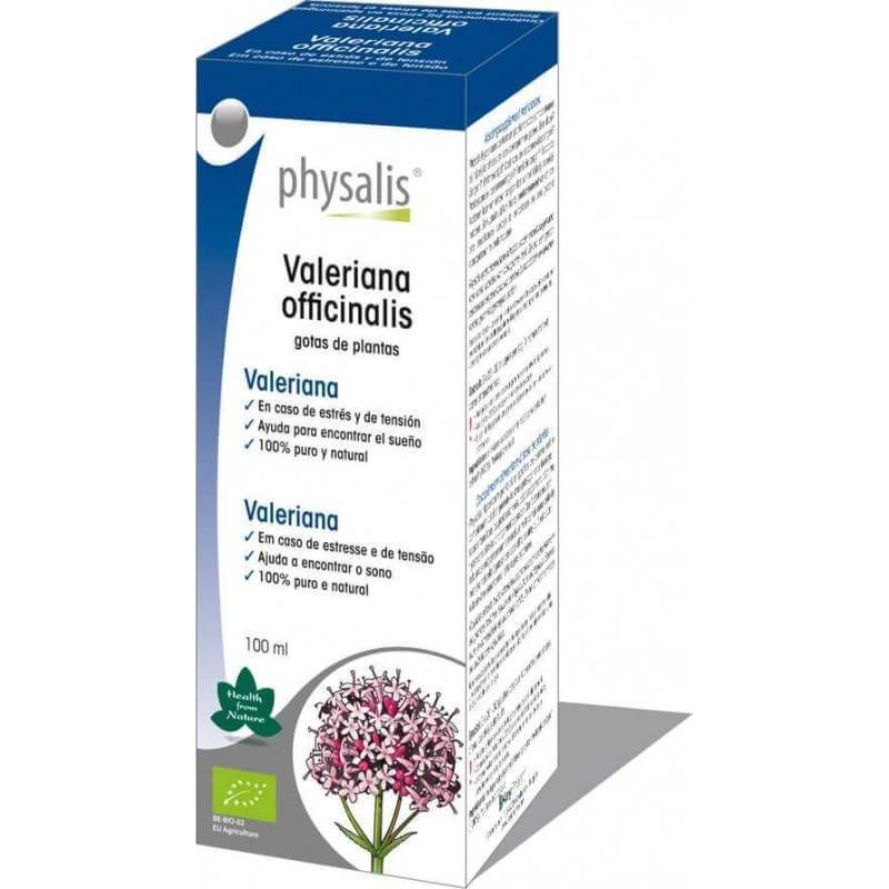 Valeriana Officinalis extracto bio - Physalis - Ecovidasolar