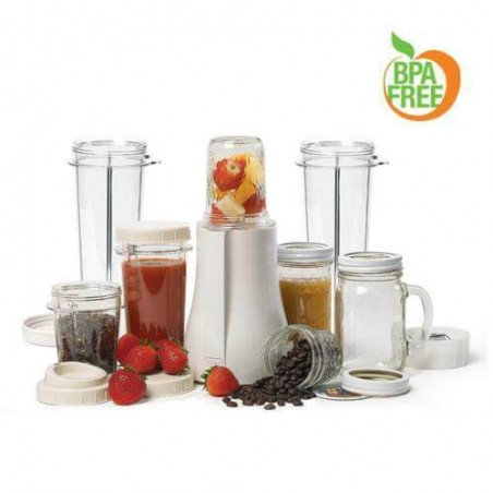 Tribest Personal Blender XL - Mason Jar & Single-Serving Blender