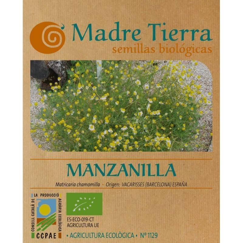 Semillas de manzanilla - Madre Tierra - Ecovidasolar