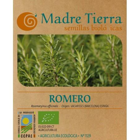 Semillas de romero - Madre Tierra - Ecovidasolar