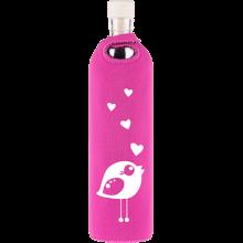 Botella neopreno pajarita enamorada - Flaska - Ecovidasolar