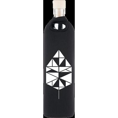 Botella de vidrio neo design tangram - Flaska