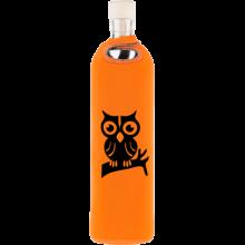 Botella neopreno búho en la rama - Flaska - Ecovidasolar