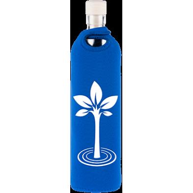 Botella de vidrio neo design arbol de la vida - Flaska