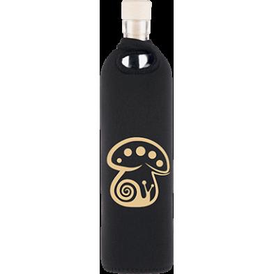 Botella de vidrio neo design seta mágica - Flaska