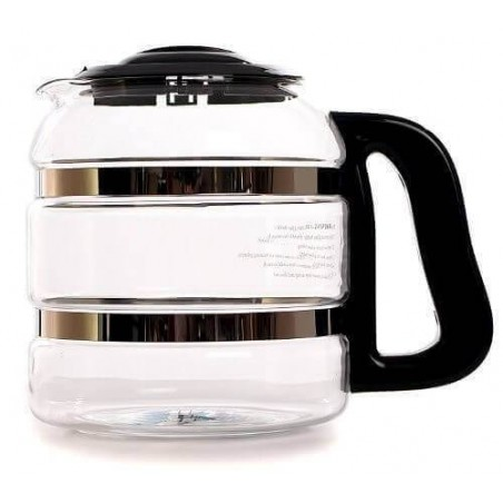 Jarra de vidrio para destiladora de agua Megahome Ecovidasolar.