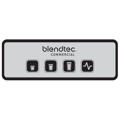 Batidora Blendtec EZ600 Ecovidasolar interfaz