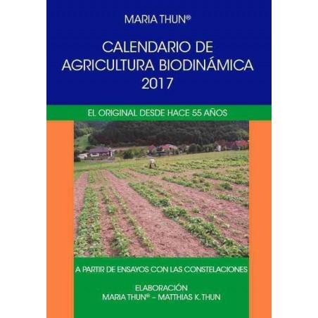 Calendario de agricultura Biodinámica 2017 - Maria Thun Y Mathias K. Thun