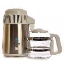 Destiladora de agua blanca con jarra - Megahome